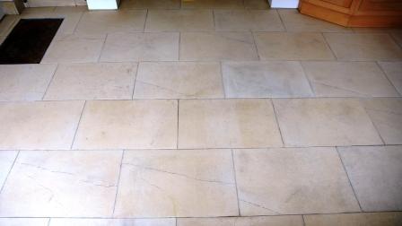 Limestone Floor