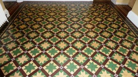 Victorian Floor After