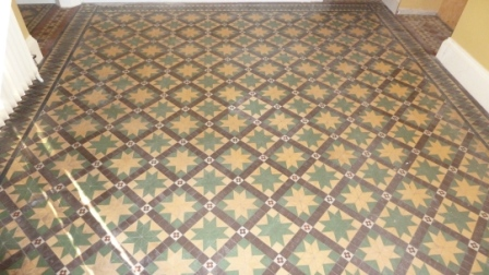 Victorian Floor Before