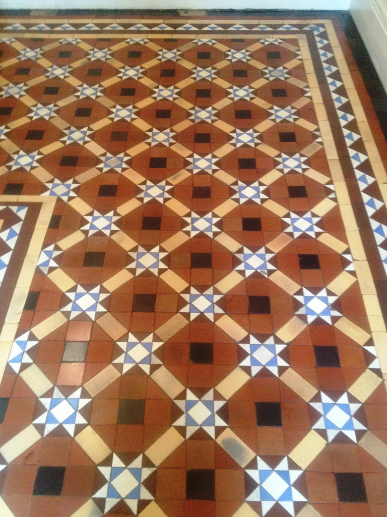 Victorian Tiles Skipton After Cleaning