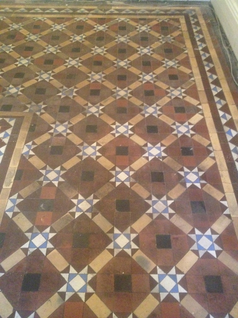 100 Year Old Victorian Tiled Floor Restored In Skipton