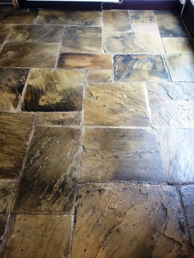 Yorkshire Stone Hebden Bridge After Cleaning