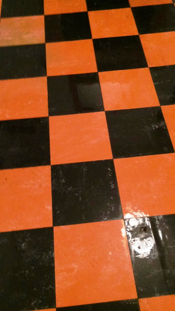 Victorian Design Linoleum Tiles Restored In York North West Yorkshire Tile Doctornorth West Yorkshire Tile Doctor