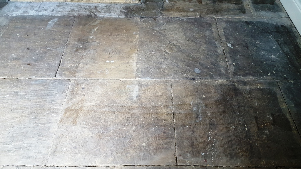 Salts Mill Yorkshire Stone Before Cleaning
