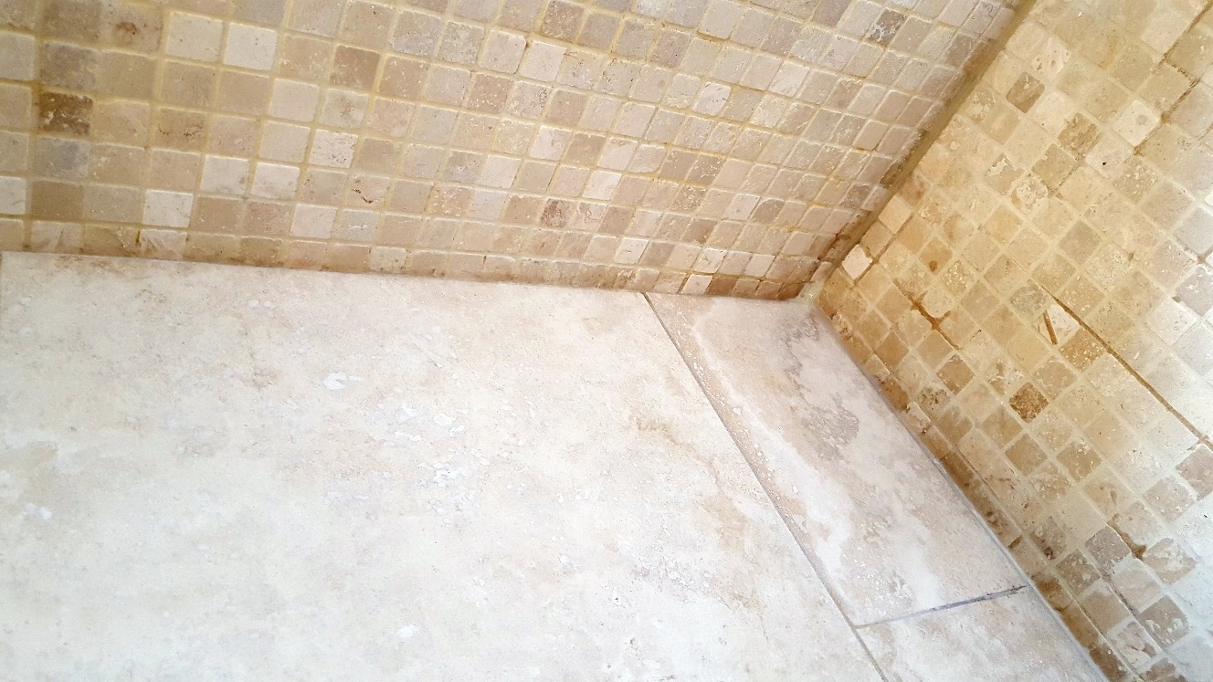 Stone cleaning and polishing tips for travertine floors achieving a deep polish on large travertine tiled floor in cambridge dailygadgetfo Gallery