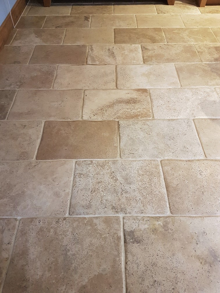 Travertine Marble Tile : Stone cleaning and polishing tips for travertine floors
