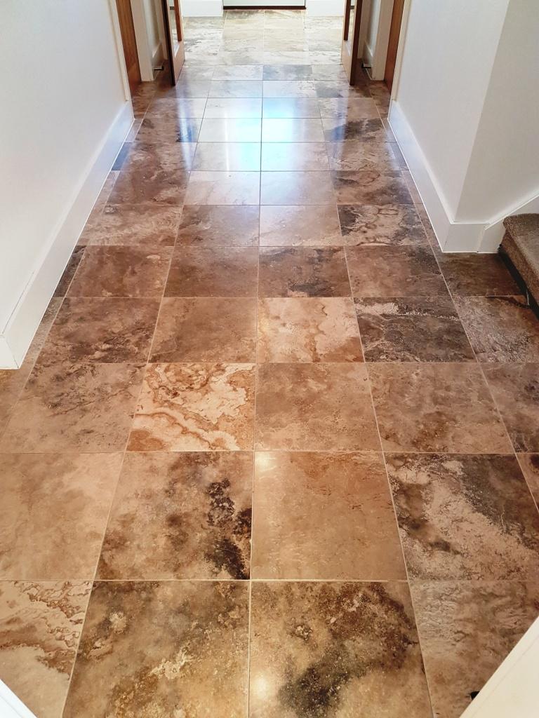 Jura Limestone Tiled Floor After renovation