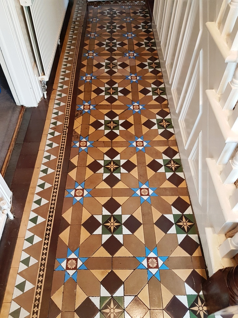 Victorian Hallway Shipley After Cleaning