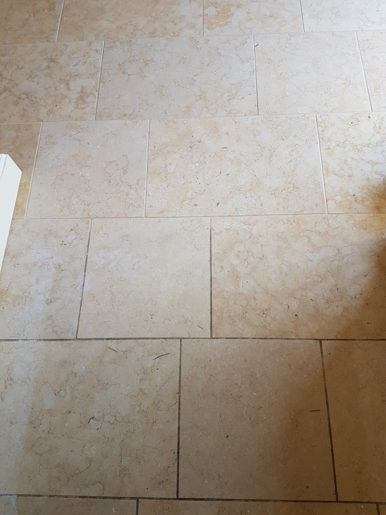 Jerusalem Limestone During Grout Cleaning York