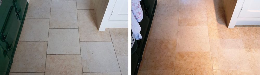 Jerusalem Limestone Floor Renovation in the City of York