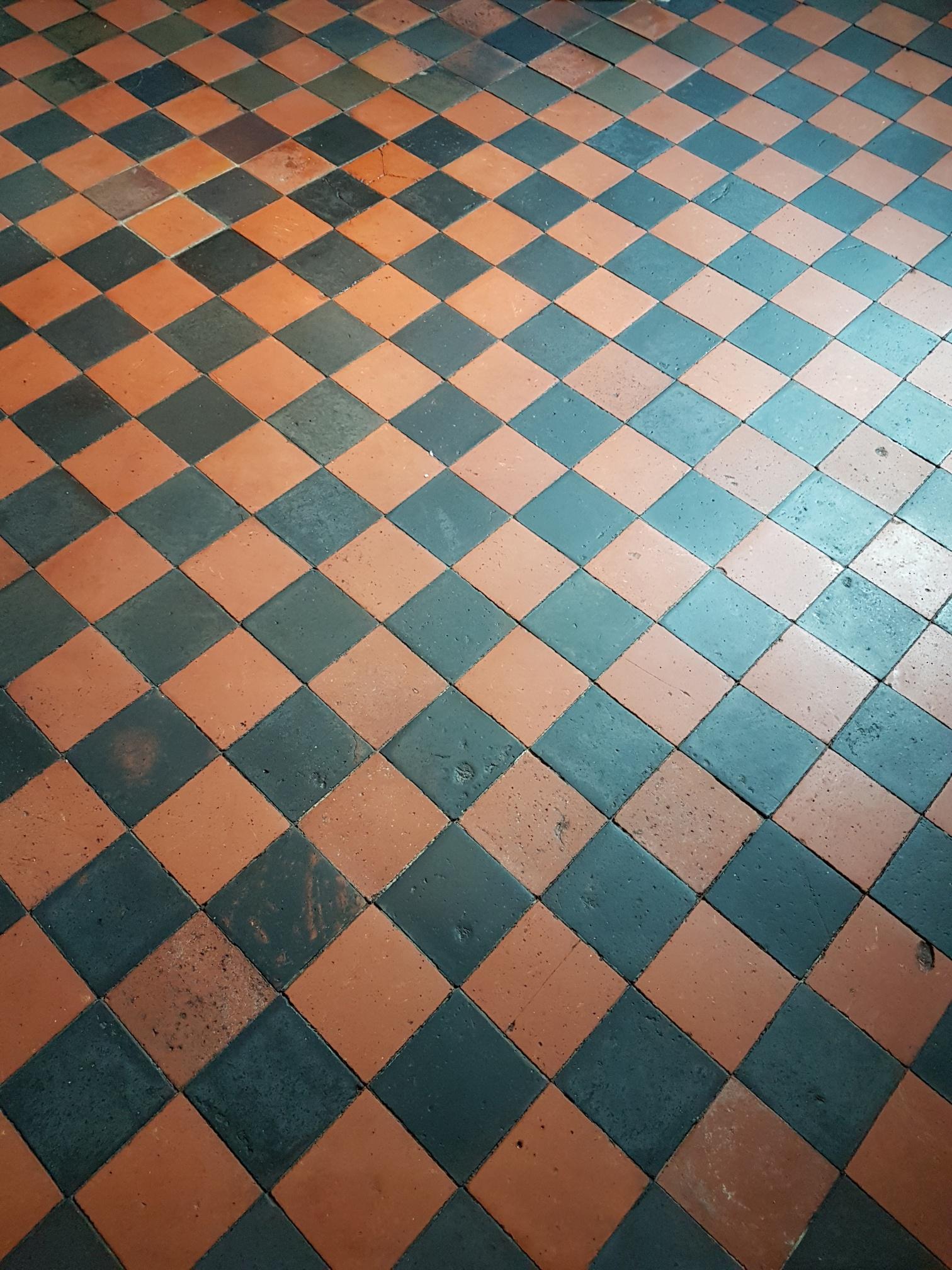 Quarry Tiled Floor After Cleaning Knaresbrorough
