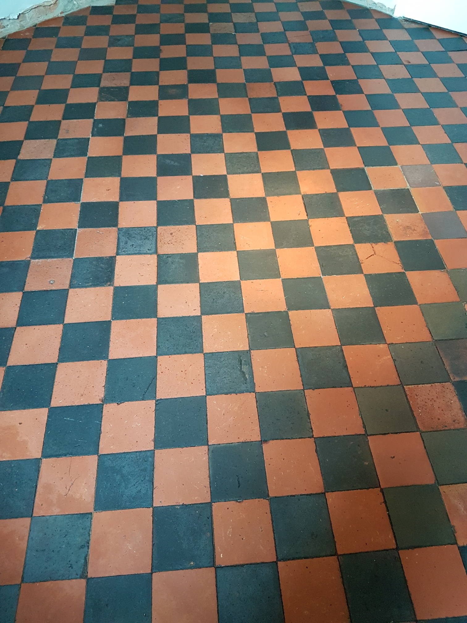 Quarry Tiled Floor After Cleaning Knaresborough