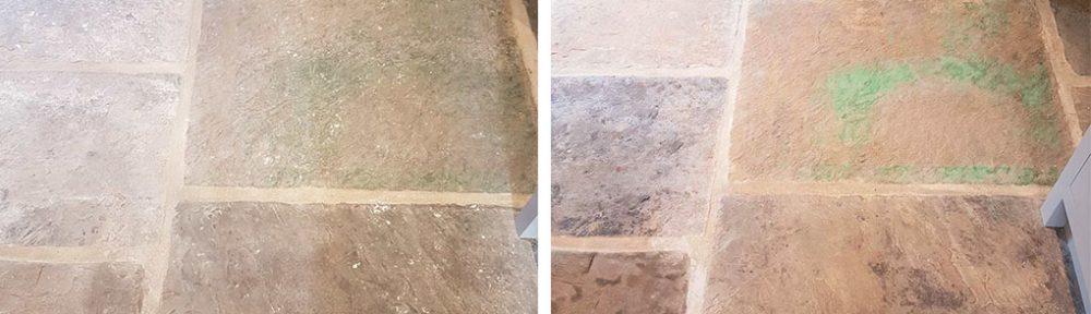 Reclaimed Yorkshire Flagstone Floor Renovation in Harrogate