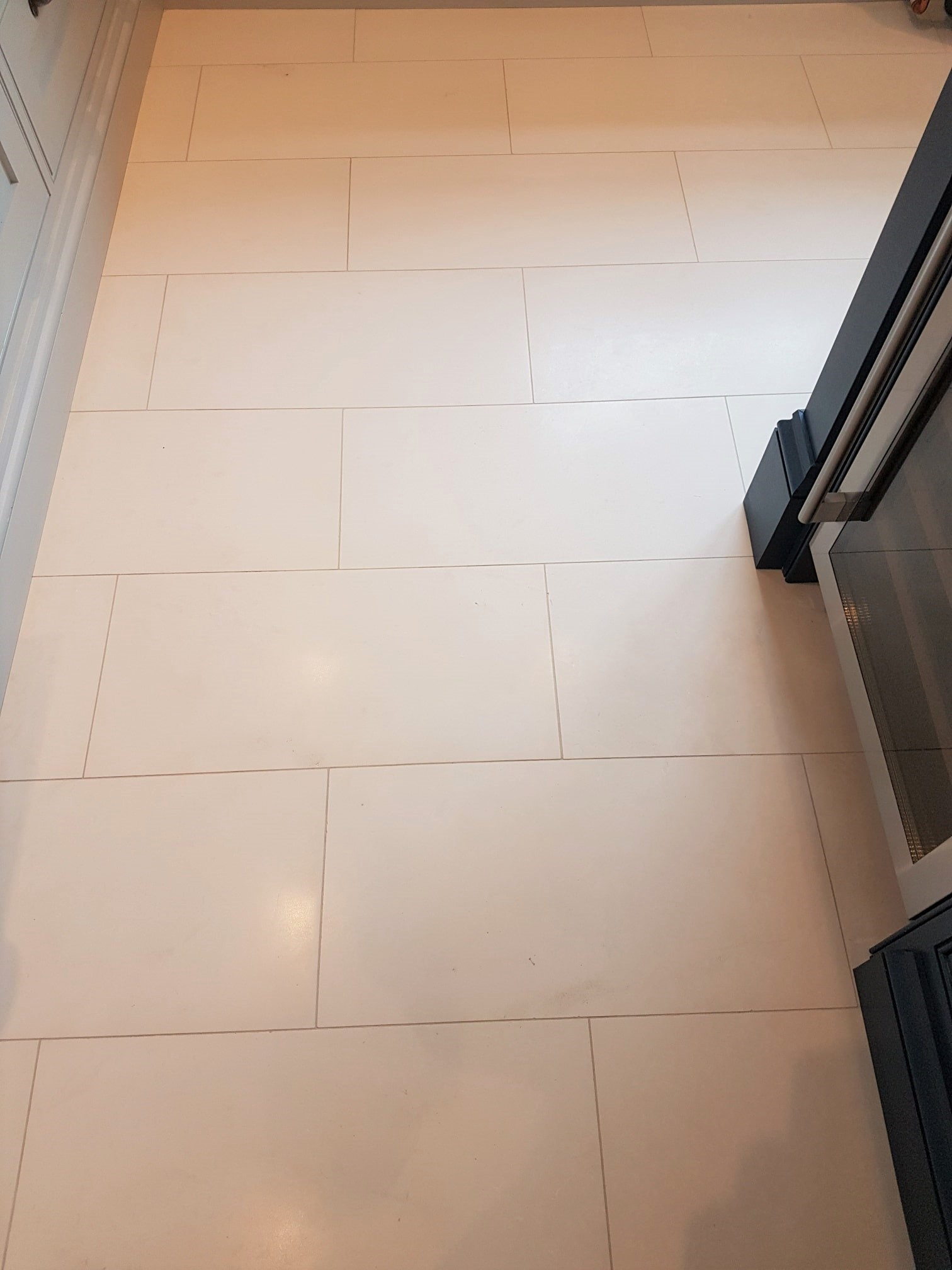 Renovating A Limestone Tiled Kitchen Floor In Shepperton Middle