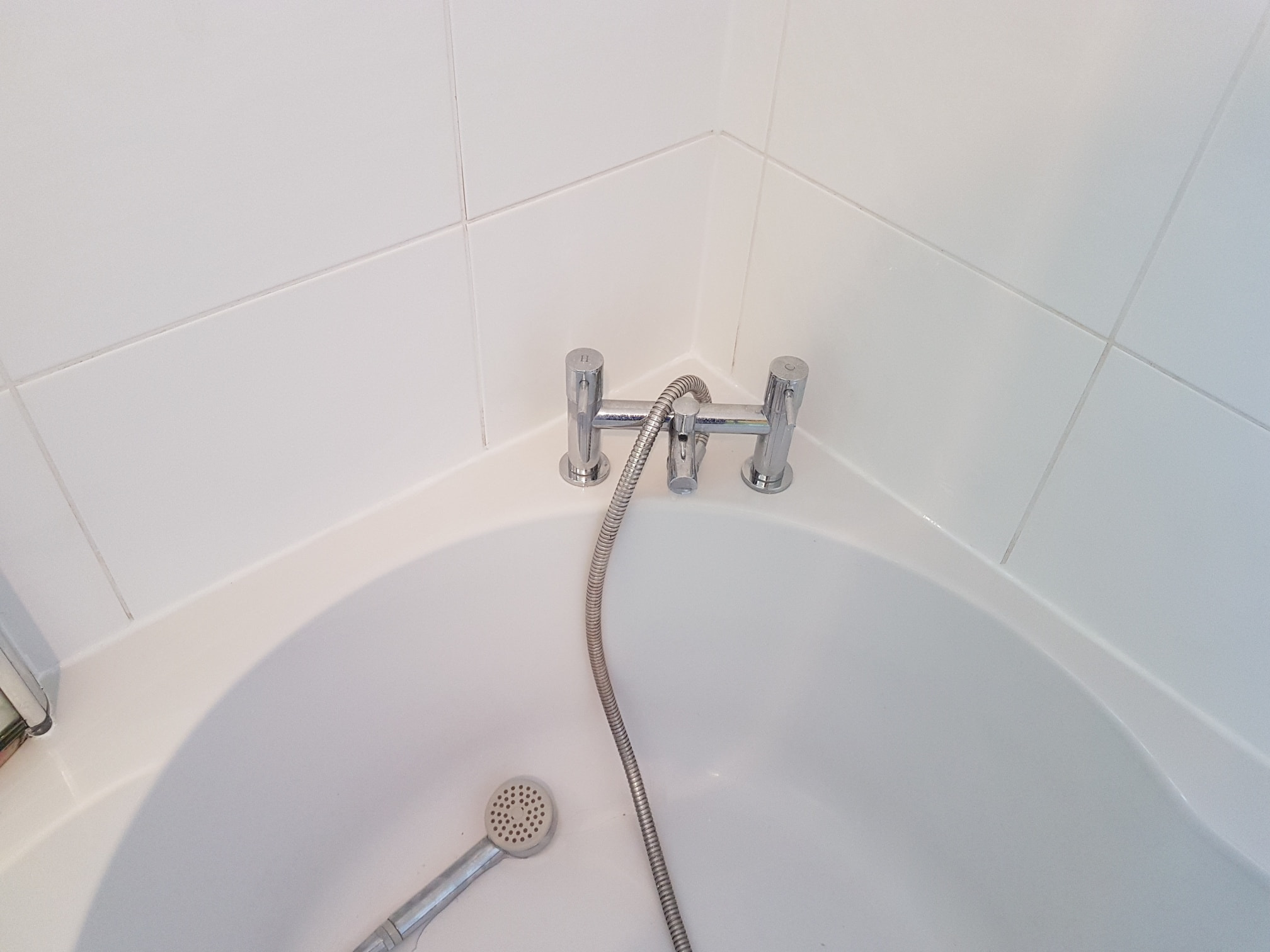 Renovating White Ceramic Tiled Bathroom Harrogate After
