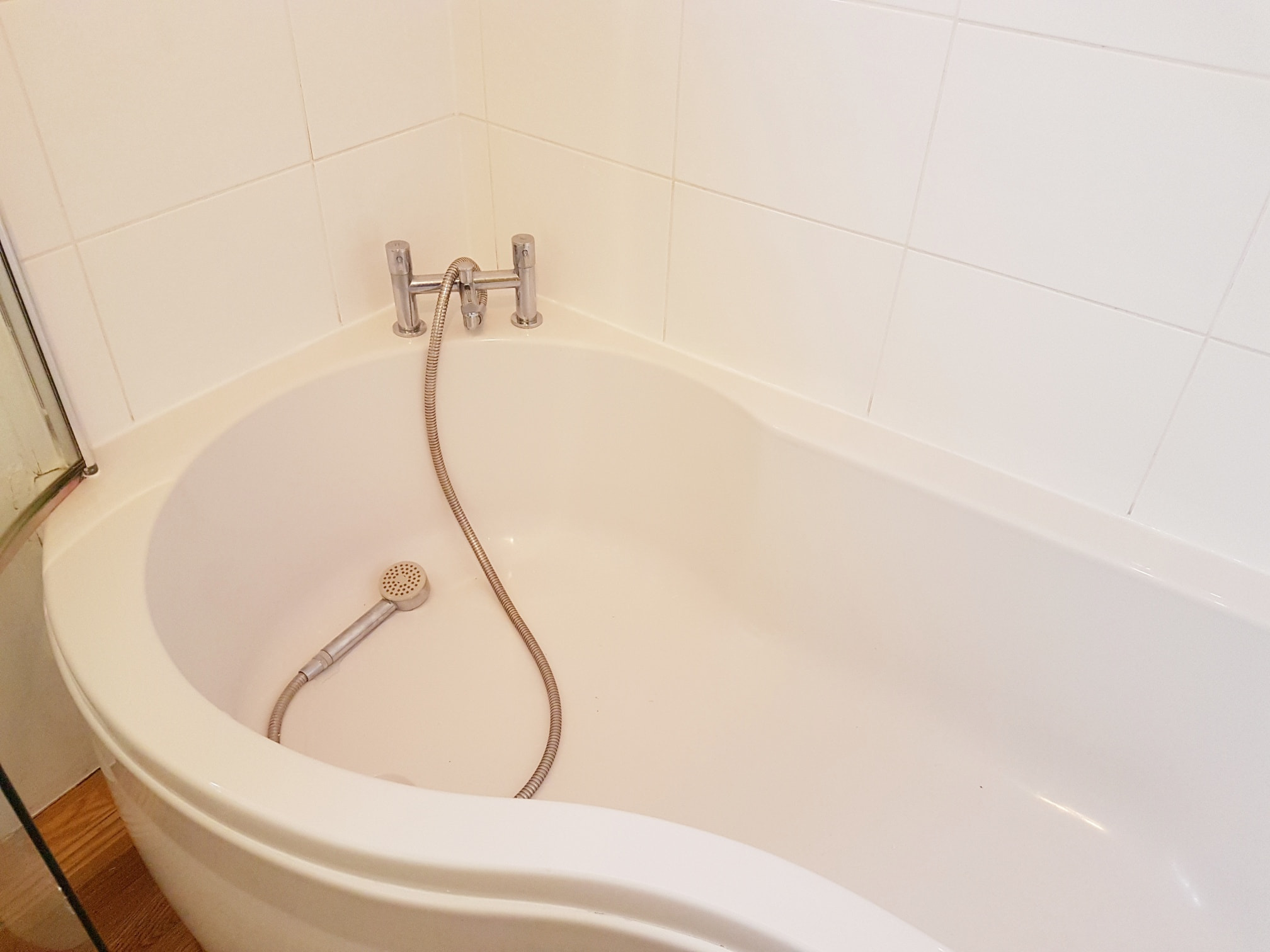 Renovating White Ceramic Tiled Bathroom Harrogate After