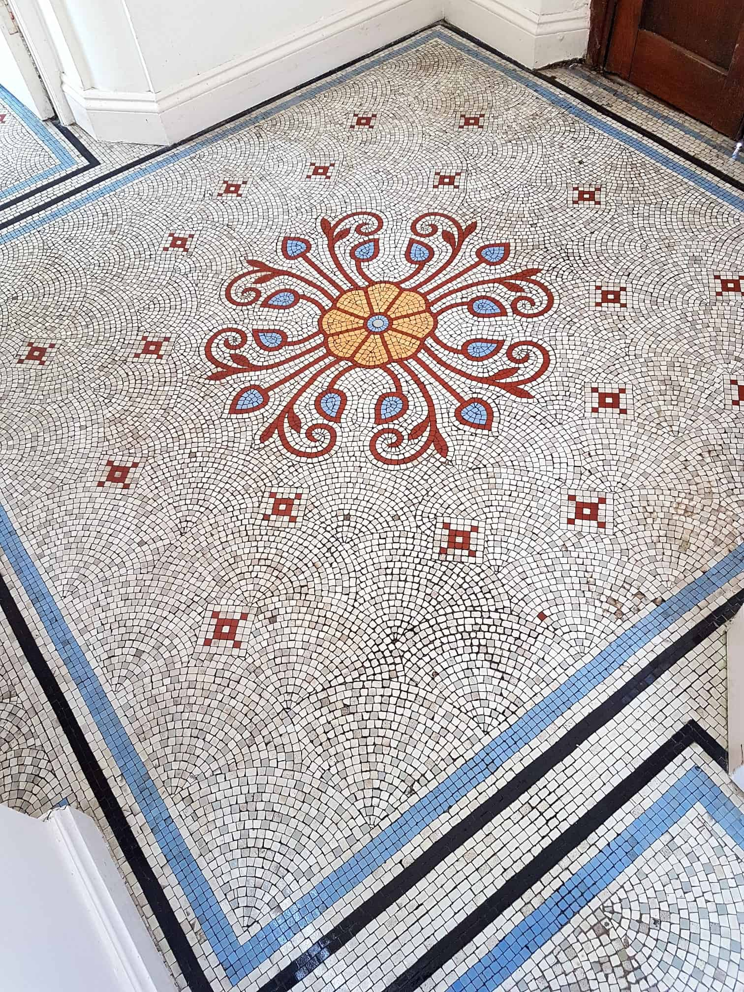 Mosaic Tiled Floor After Renovation Ilkley