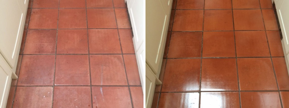 Spanish Terracotta Tiles Refreshed in Halifax