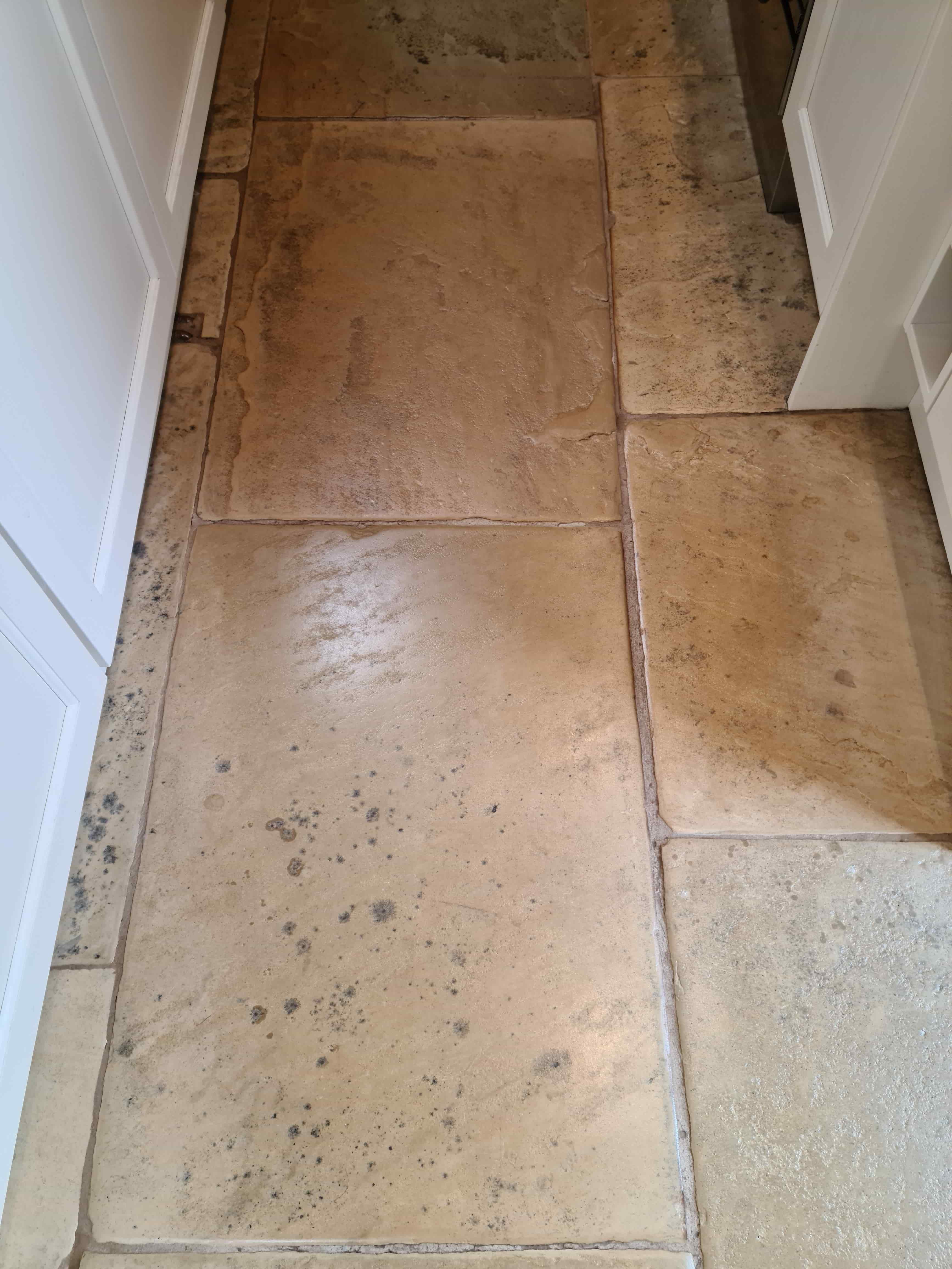 Lapicida Sandstone Floor After Sealing Ilkley
