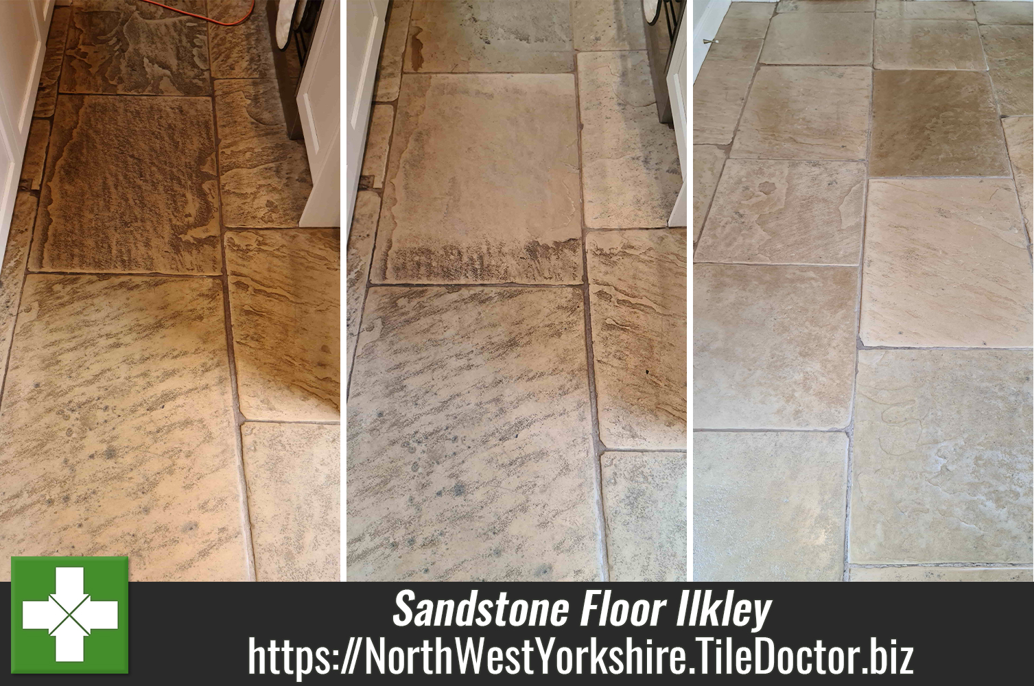Renovating a Lapicida White Sandstone Kitchen Floor in Ilkley